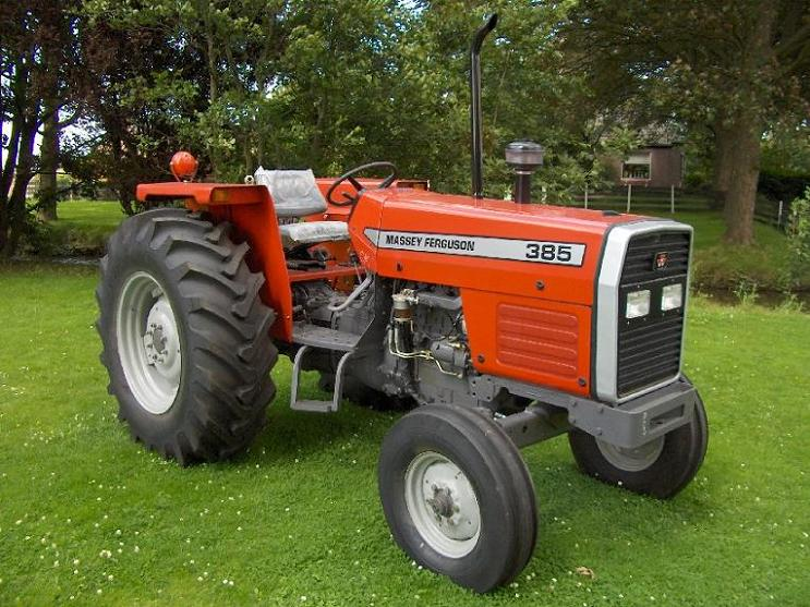 Massey Ferguson Tractor 385. The same company that makes these: