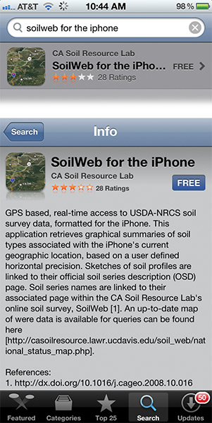 Oklahoma farm report know thy soil get soilweb app for for Soil web survey